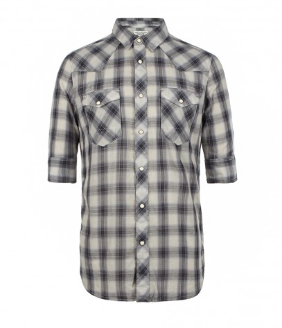 Mosswood Half Sleeved Shirt, Men, Shirts, AllSaints Spitalfields