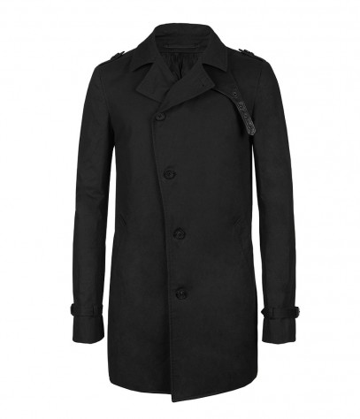Pushkin Mac, Men, Coats, AllSaints Spitalfields