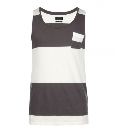 Redwood Raw Arm Vest, Men, T-shirts, AllSaints Spitalfields