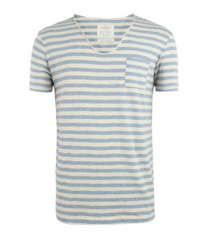 Slide Scoop T-shirt, Men, Jersey, AllSaints Spitalfields
