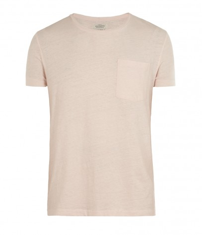 Brooks Oversized Crew T-shirt, Men, Jersey, AllSaints Spitalfields