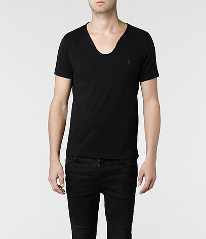 Tonic Scoop T-shirt, Men, Ramskull, AllSaints Spitalfields