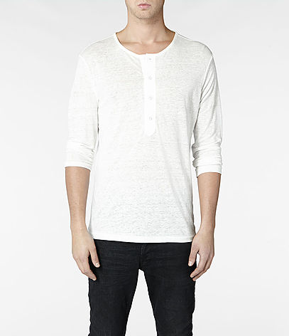 Steady 3/4 Sleeve Henley