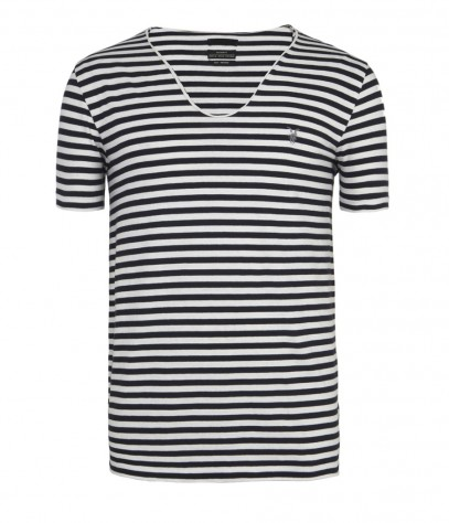 Tonic Stripe Scoop T-shirt
