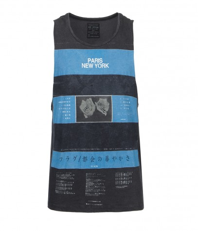 Titan Raw Arm Vest, Men, T-shirts, AllSaints Spitalfields