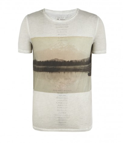 Hills Cut Collar T-shirt, Men, , AllSaints Spitalfields