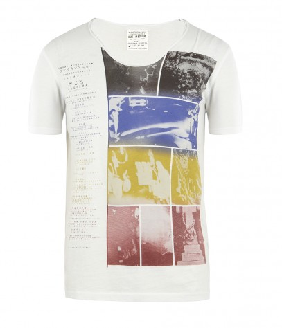 Piecemal Tonic Scoop T-shirt, Men, , AllSaints Spitalfields