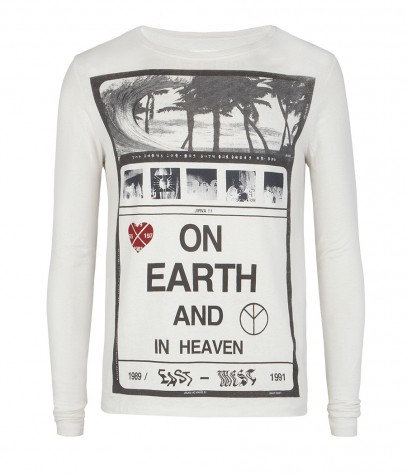 Heaven and Earth Long Sleeved Crew
