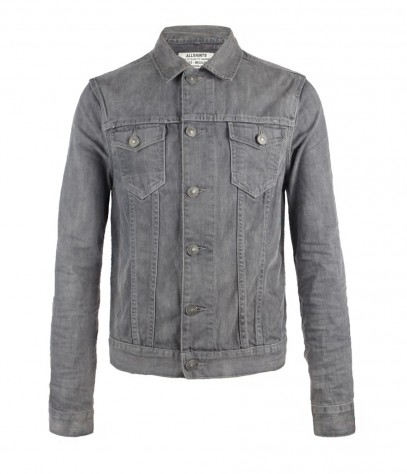 Slurry Denim Jacket, Men, Jackets, AllSaints Spitalfields