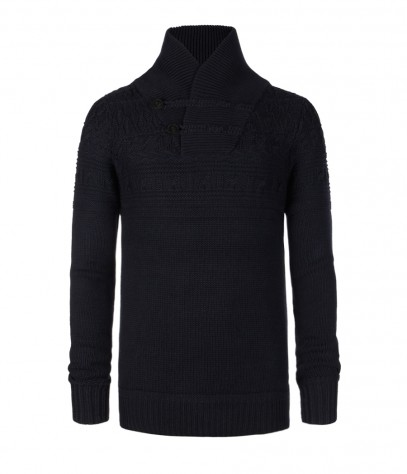 Coast Funnel Neck Jumper, Men, Knitwear, AllSaints Spitalfields