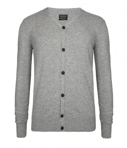 Patch Cardigan, Men, Knitwear, AllSaints Spitalfields
