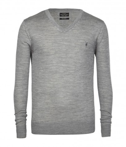 Code Merino V-neck Jumper