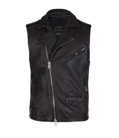 Tame Sleeveless Biker Jacket