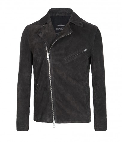 Crawley Leather Biker Jacket