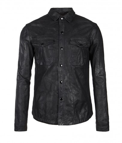 Ruin Leather Shirt