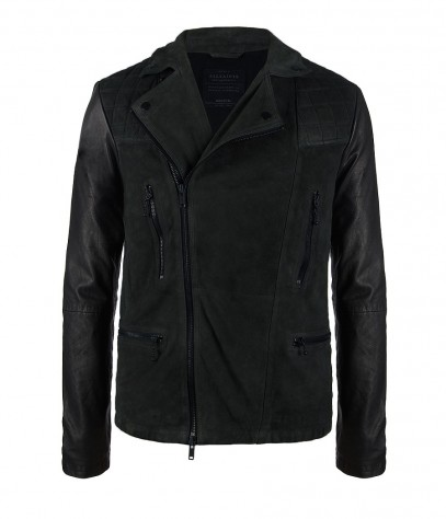 Able Leather Jacket, Men, Leathers, AllSaints Spitalfields