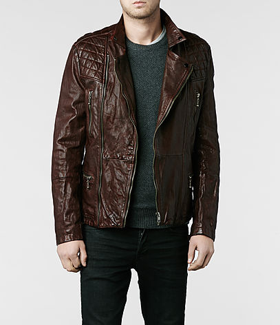 Callerton Leather Biker Jacket