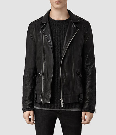 Griffin Leather Biker Jacket