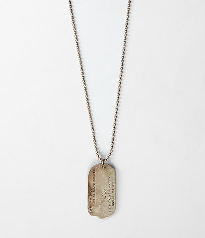 Tag Necklace