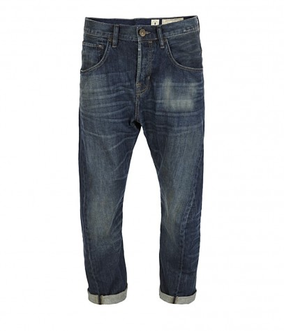 Luger Cropper Runner Jeans, Men, Denim, AllSaints Spitalfields