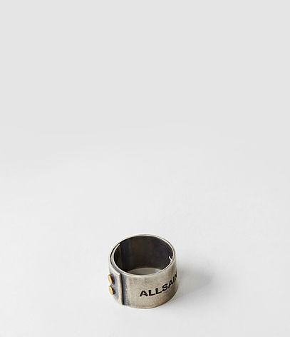 Bolt Ring, Men, Jewellery, AllSaints Spitalfields