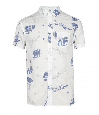 Comic Short Sleeved Shirt