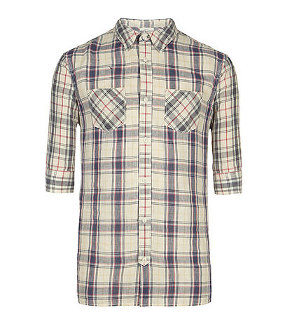 Gridlock Half Sleeved Shirt