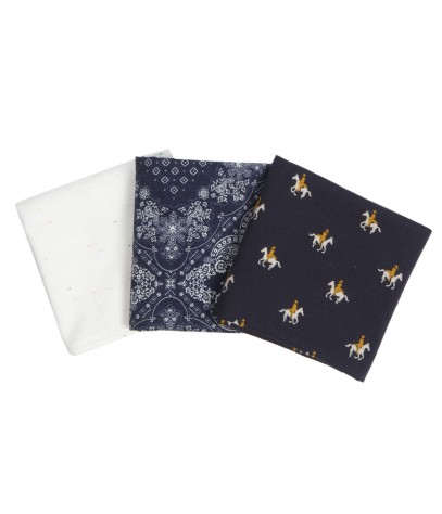 Shaku Pocket Square Set