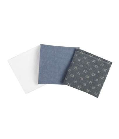Ravine Pocket Square Set