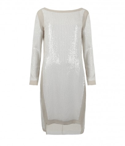 Prey Long Sleeved Dress, Women, Dresses, AllSaints Spitalfields