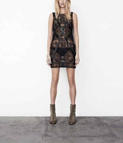 Lace Flag Tank Dress