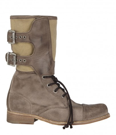 Panelled Damisi Boot