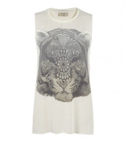Tigre Sleeveless Crew T-shirt