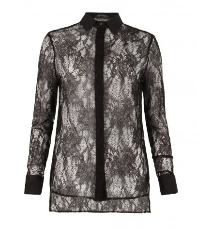 Shield Lace Shirt, Women, Shirts, AllSaints Spitalfields