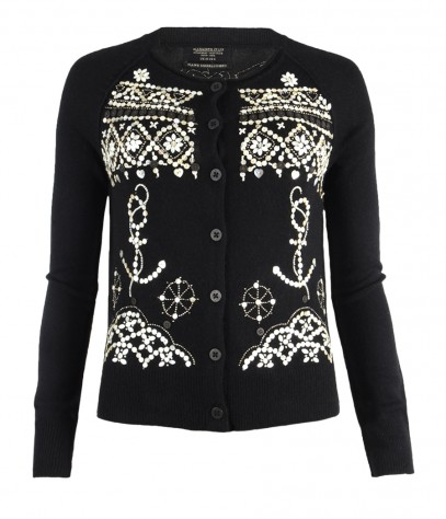Pearly Queen Cardigan, Women, Knitwear, AllSaints Spitalfields