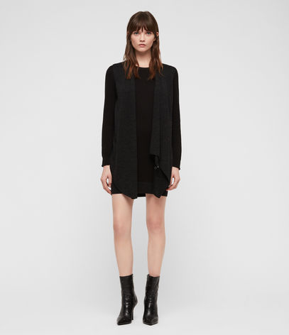 AllSaints Drina Sweater Dress