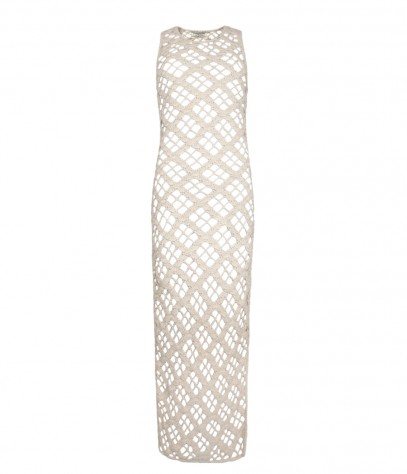 Argyle Mesh Maxi Dress, Women, Dresses, AllSaints Spitalfields