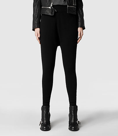 Char Bell Leggings, Women, Trousers, AllSaints Spitalfields