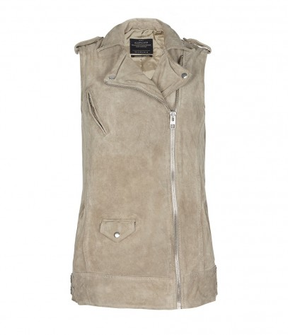 Rona Sleeveless Biker Jacket