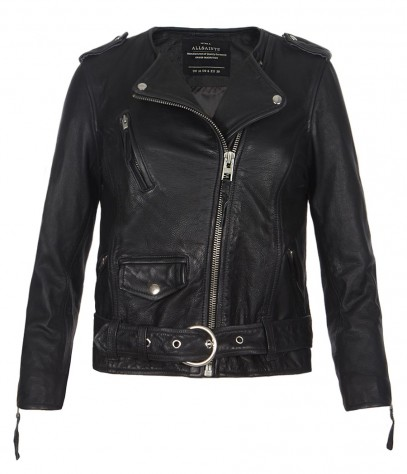 Cropped Riley Biker Jacket