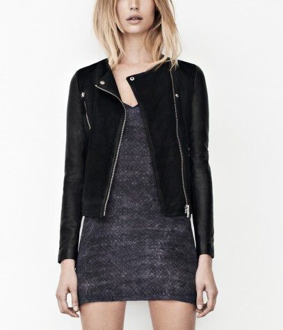 Connell Leather Biker Jacket