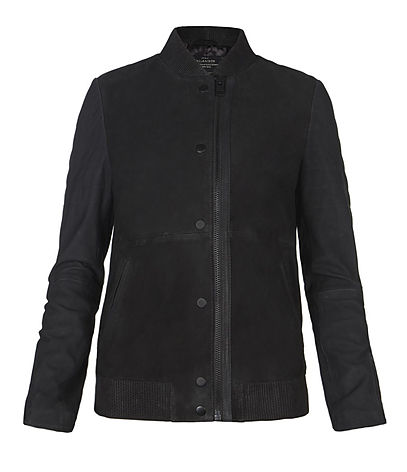 Zimmer Leather Bomber Jacket