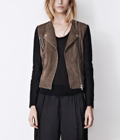 Oracle Leather Biker Jacket