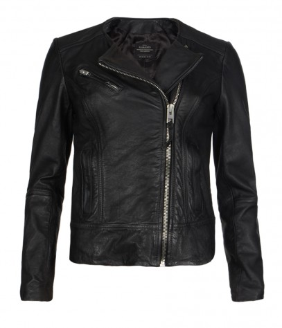 Lavine Leather Biker Jacket