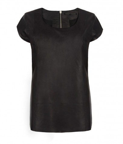 Dash Leather Tee