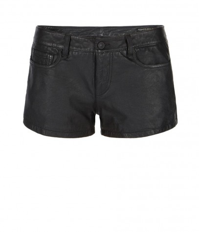 Perry Leather Shorts, Women, Shorts, AllSaints Spitalfields