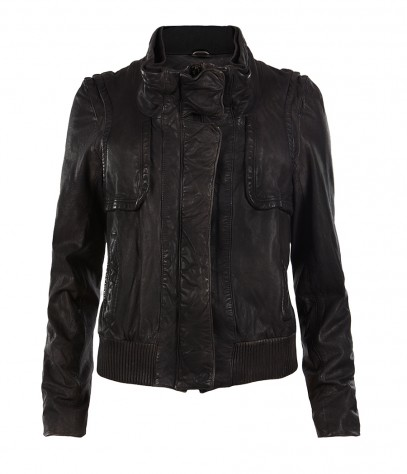 Pace Leather Jacket, Women, , AllSaints Spitalfields