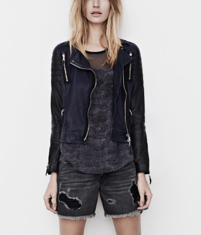 Level Leather Biker Jacket