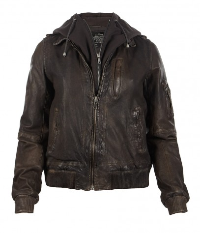 Clyde Leather Jacket, Women, Leather, AllSaints Spitalfields