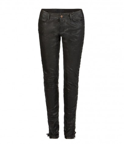 Laurella Leather Trousers, Femme, , AllSaints Spitalfields